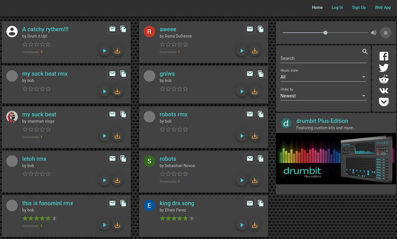 drumbit Club Screenshot