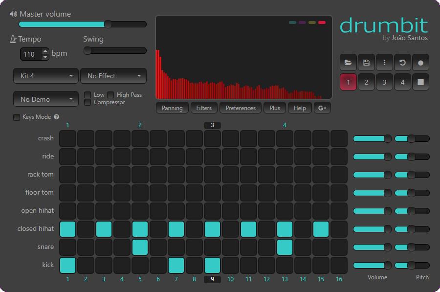 drumbit Web App Screenshot