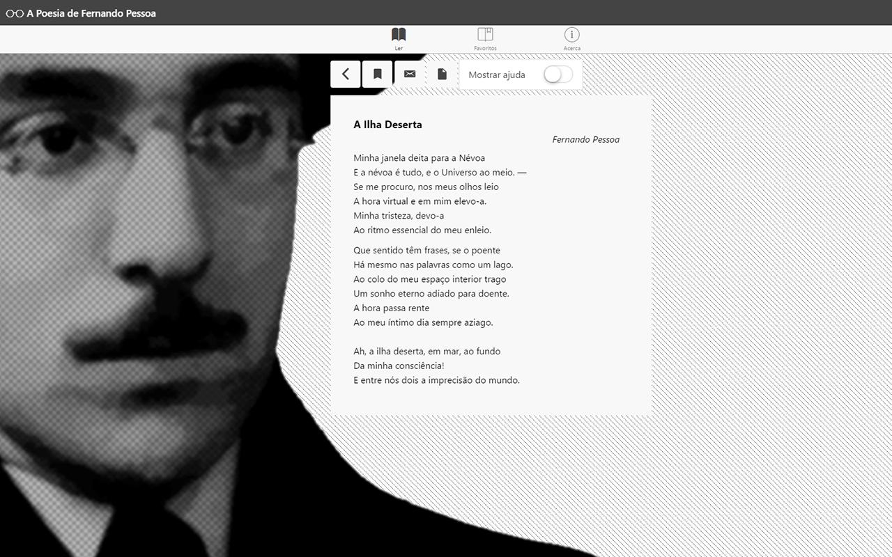A Poesia de Fernando Pessoa Screenshot