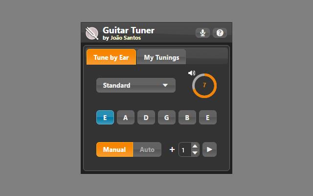 Guitar Tuner by Ear Screenshot