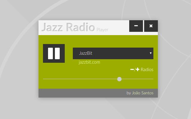 Jazz Radio Player Screenshot